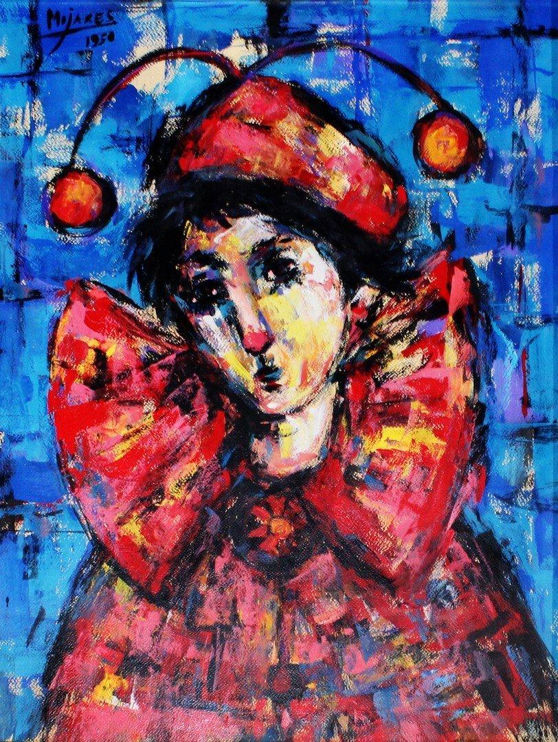Jose MIJARES (Cuban, 1921-2004) Payaso, 1950
