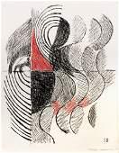 Sonia DELAUNAY (Ukrainian, 1885-1979) Untitled, 1964