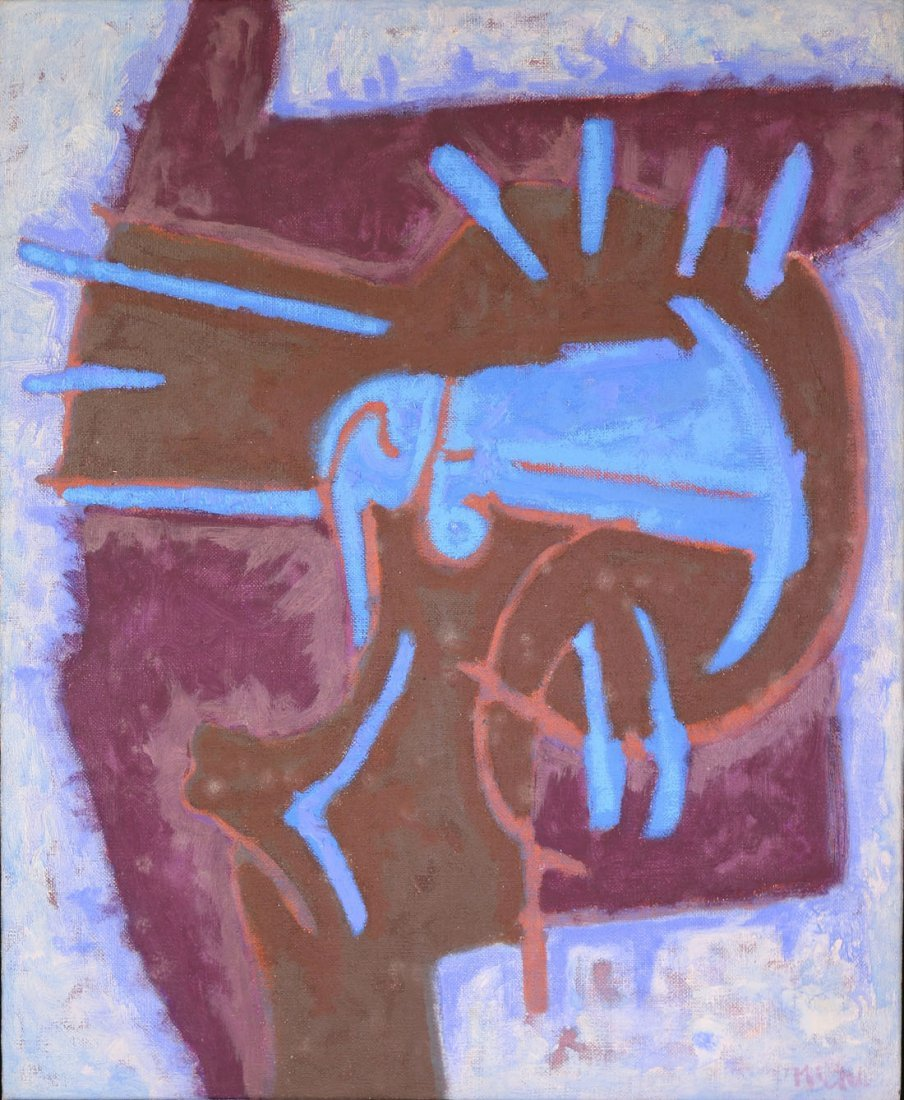 Rodolfo NIETO (Mexican, 1936-1988) Untitled