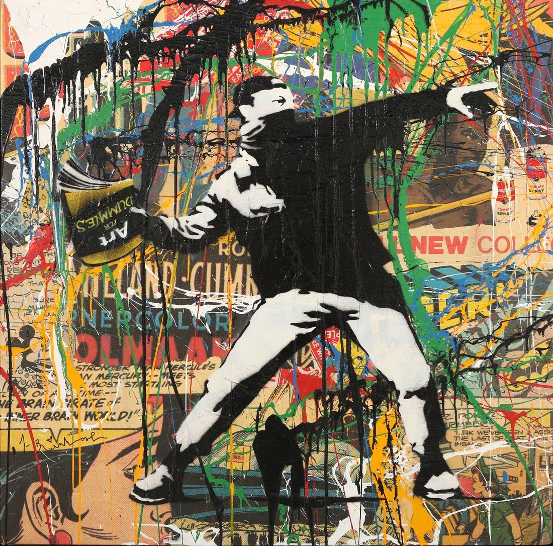 Thierry Guetta aka MR BRAINWASH (French, born 1966)