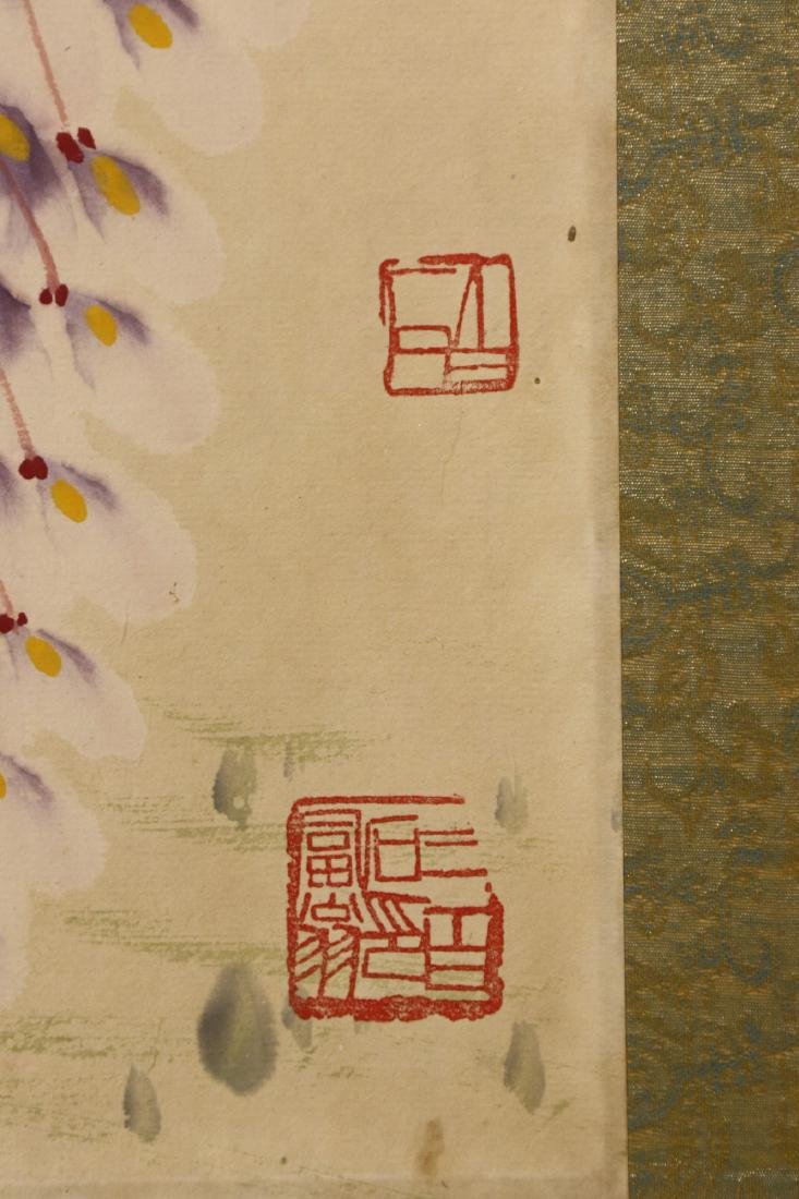 A CHINESE PAPER PAINTING HAND SCROLL BY QI, BAISHI - 8