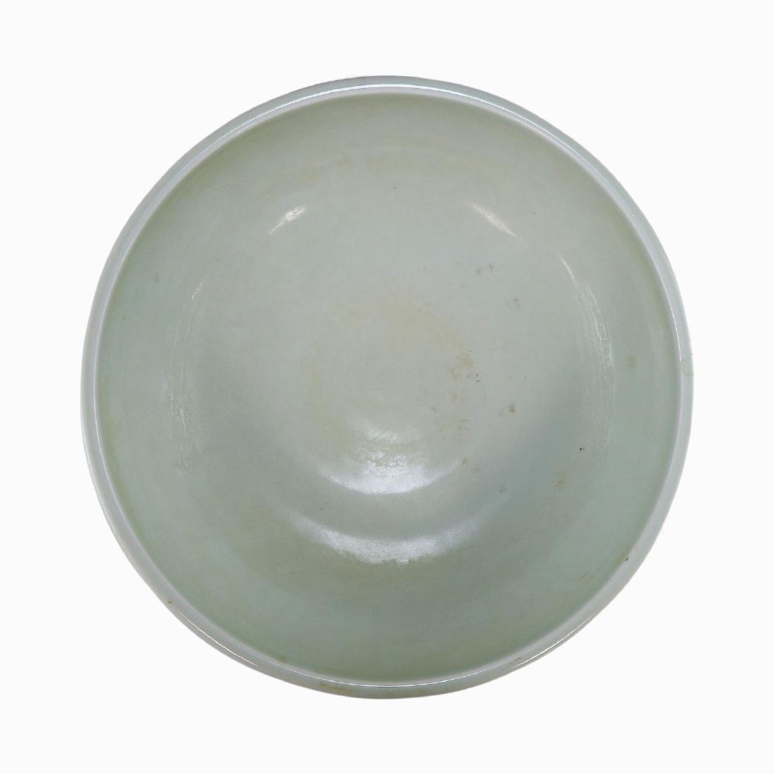 A CHINESE ANTIQUE BLUE & WHITE PORCELAIN BOWL - 3