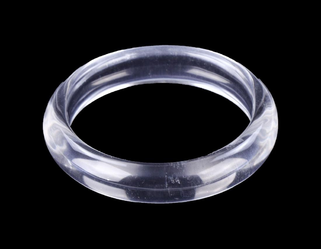 A CRYSTAL BANGLE