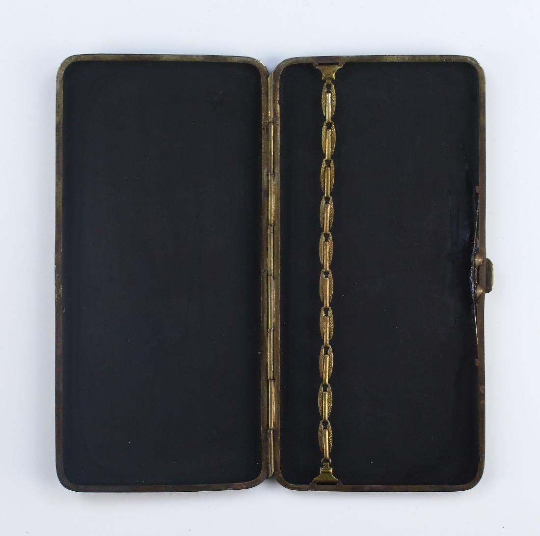 A JAPANESE GILT INLAID CIGARETTE CASE - 4