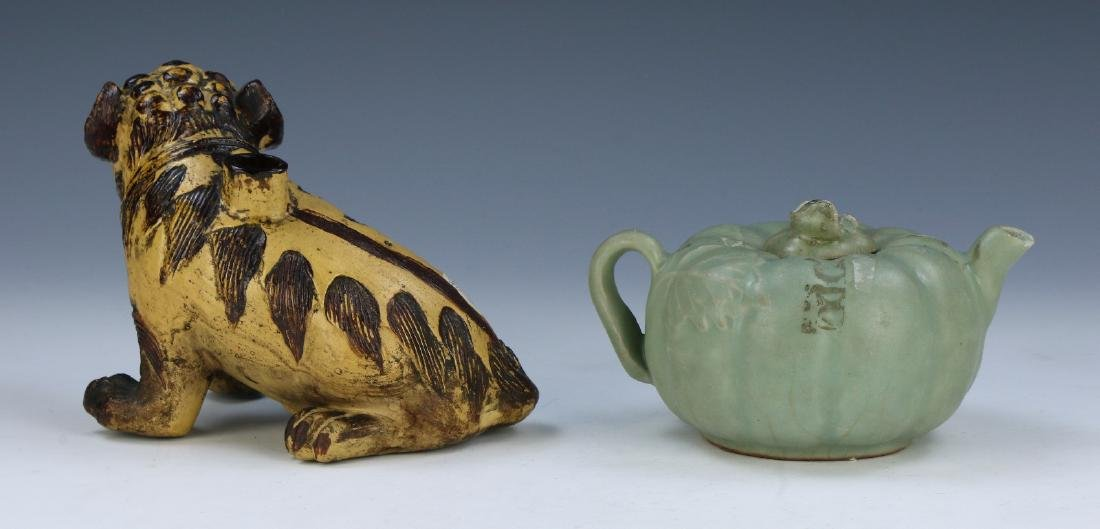 TWO (2) CHINESE PORCELAIN ITEMS - 2