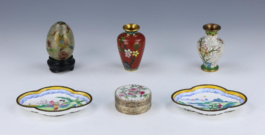 GROUP OF SIX (6) CHINESE MIXED ITEMS