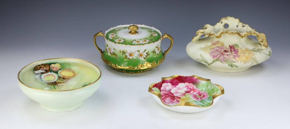 FOUR (4) FRENCH PORCELAIN ITEMS