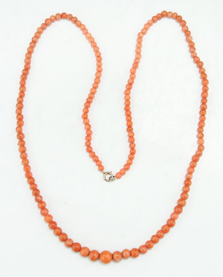 A Coral Necklace