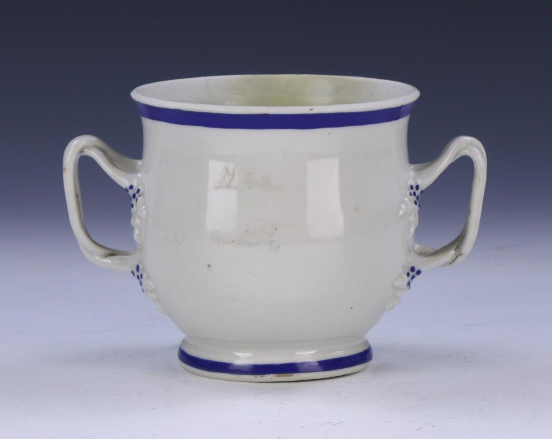 A CHINESE BLUE & WHITE PORCELAIN CUP