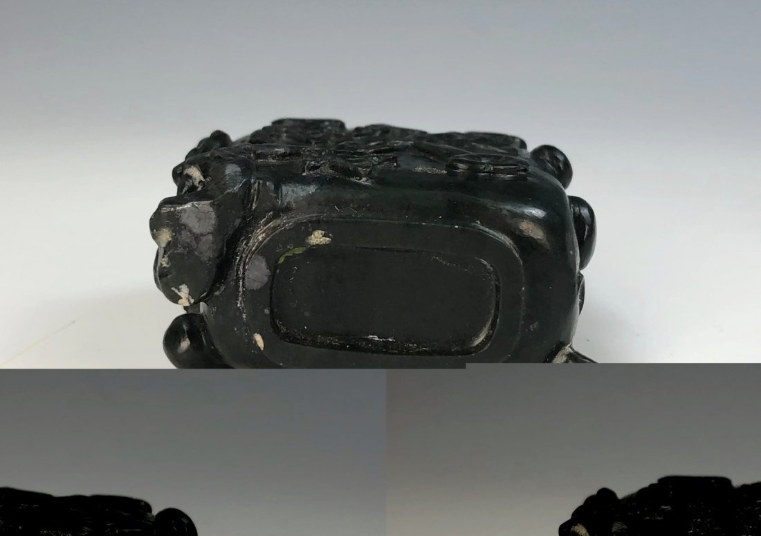A CHINESE JADE SNUFF BOTTLE - 3
