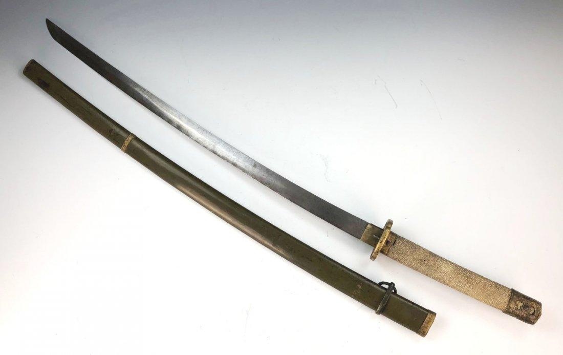 A JAPANESE SWORD - 2