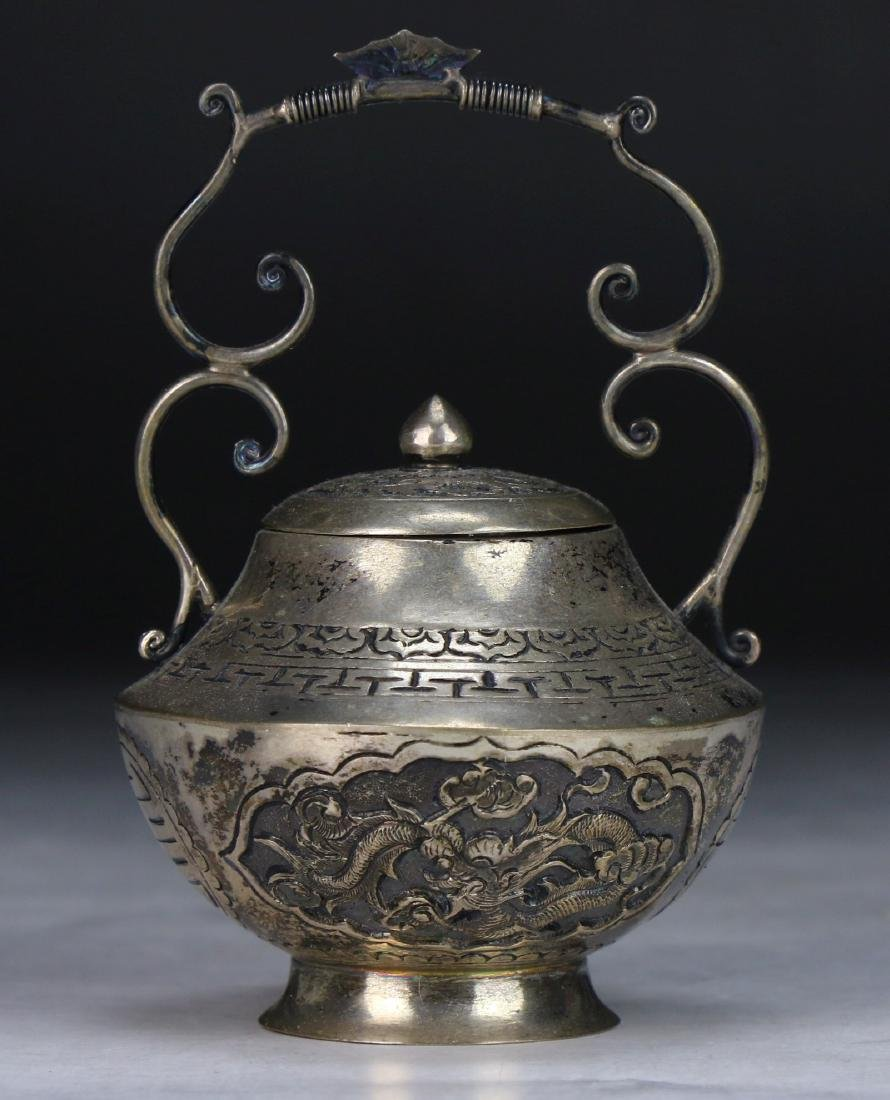 A Chinese Silver Shaker - 2
