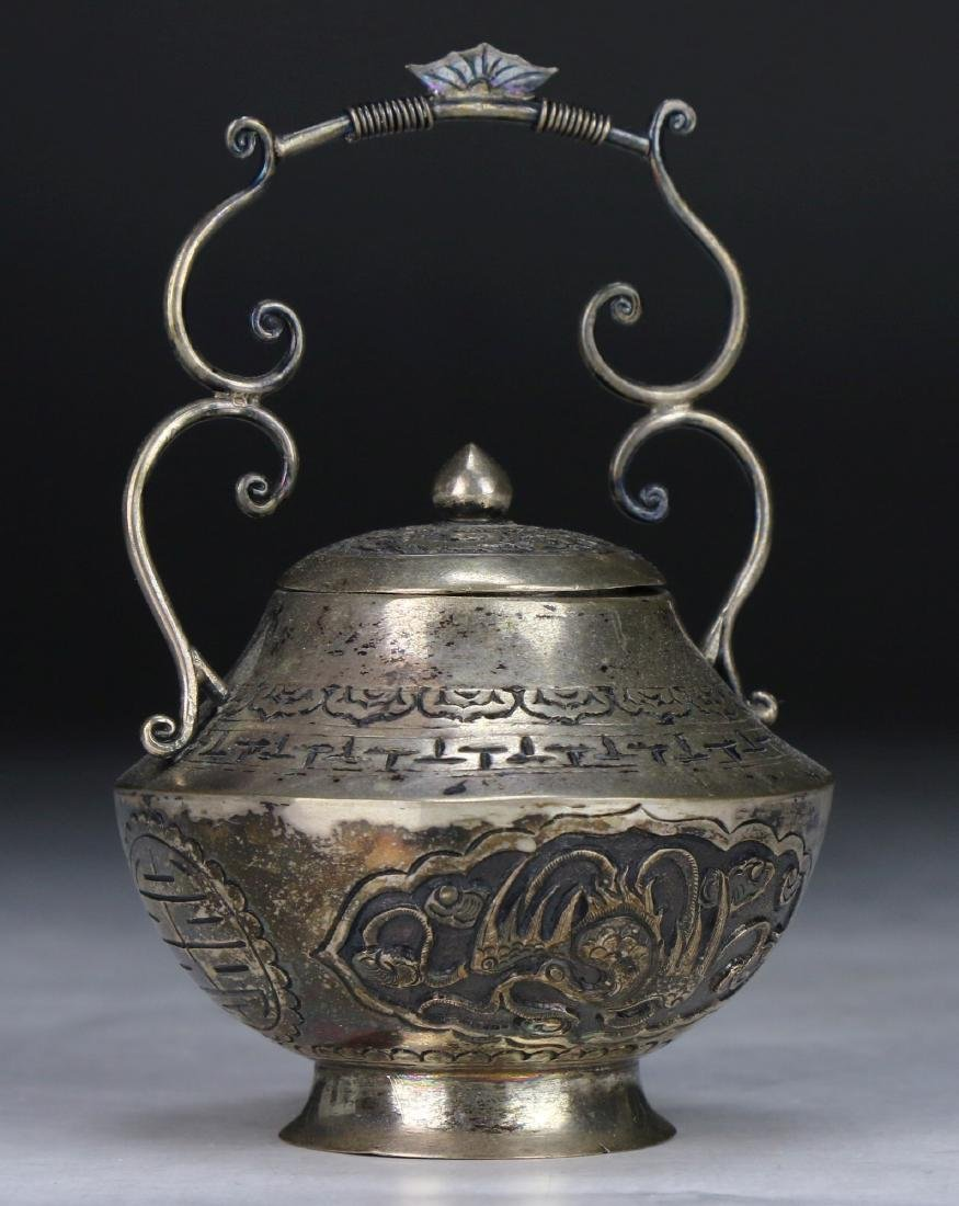 A Chinese Silver Shaker - 3