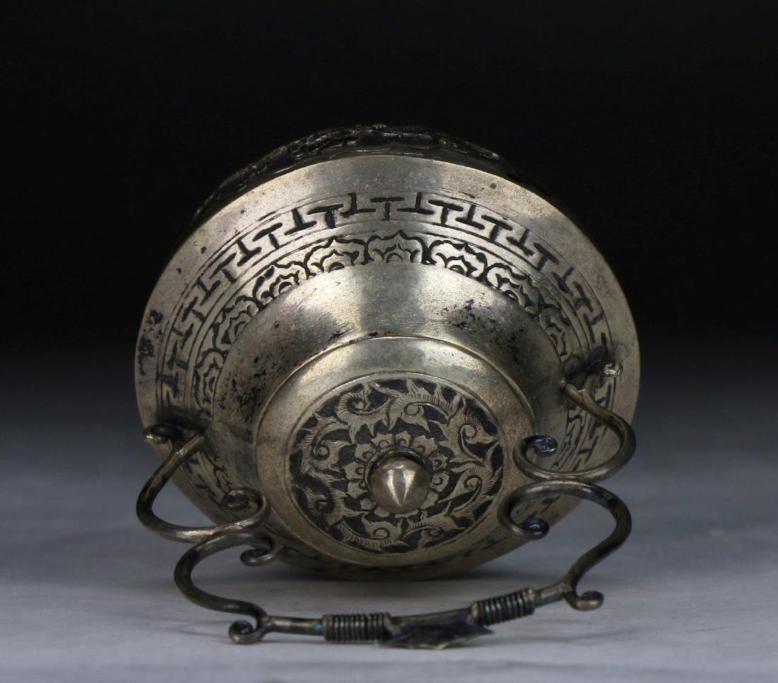 A Chinese Silver Shaker - 4