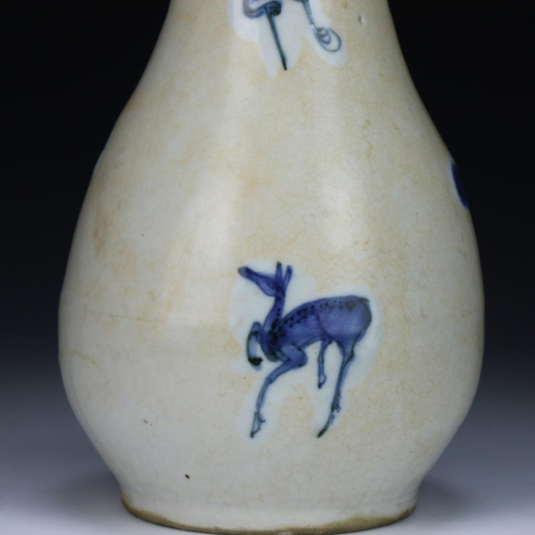 A Chinese Blue & White Porcelain Vase - 6