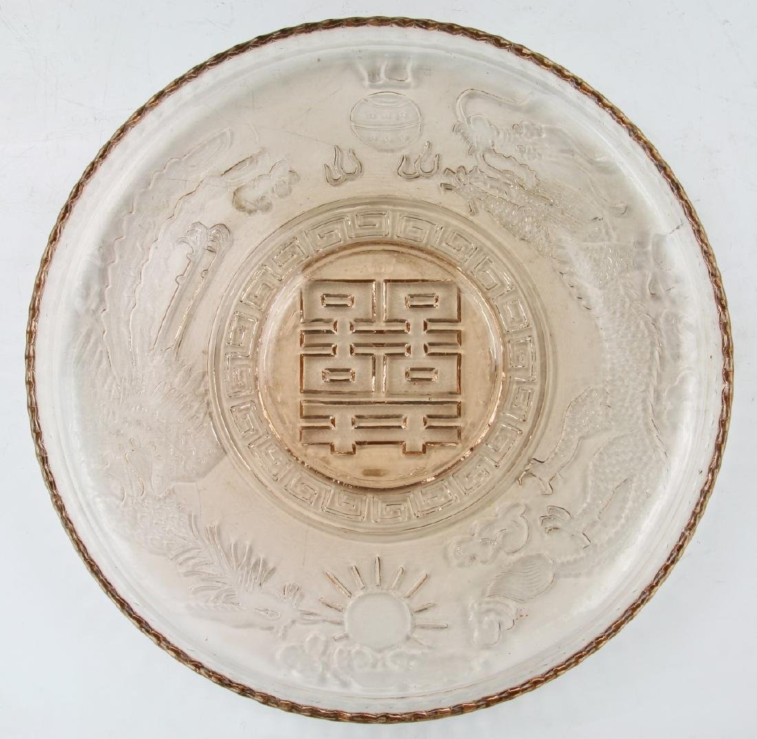 Eight (8) Stone Carved Fruits With Plate - 3