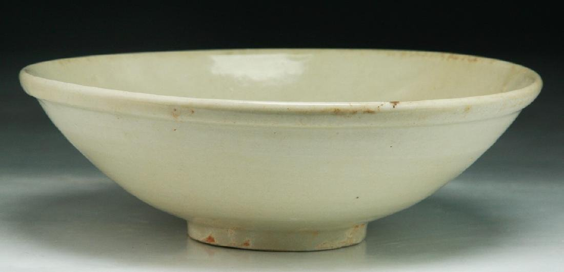 A Chinese SONG White Glazed Bowl