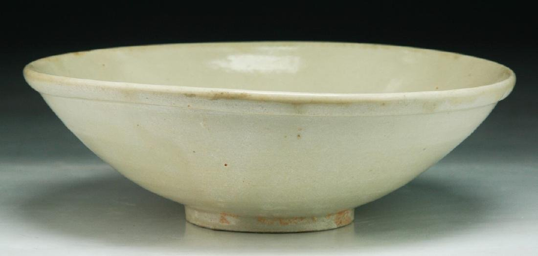 A Chinese SONG White Glazed Bowl - 2