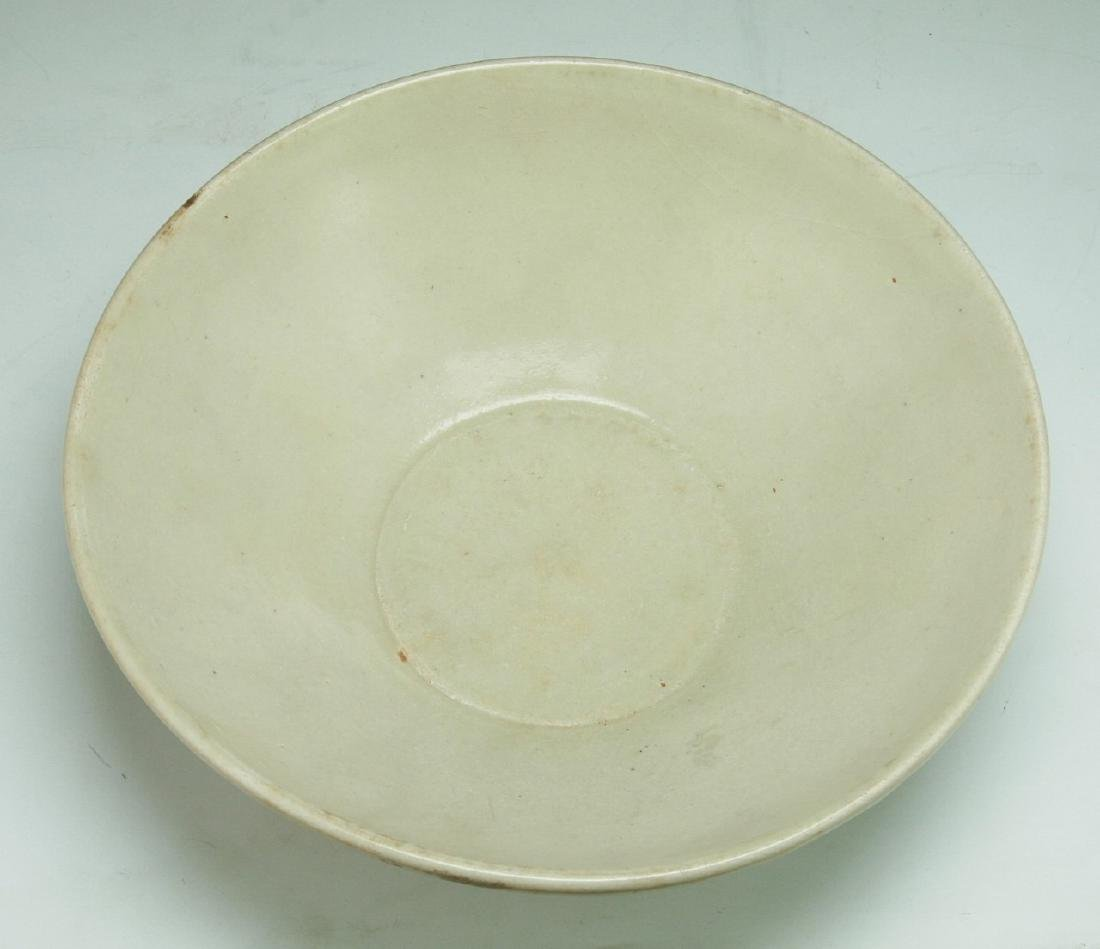 A Chinese SONG White Glazed Bowl - 3