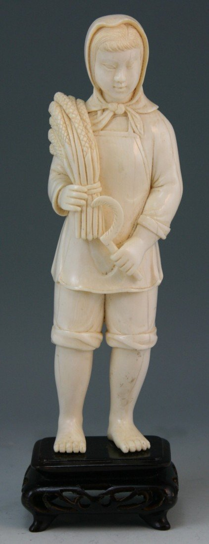 284: Chinese Cultural Revolution Ivory Carving