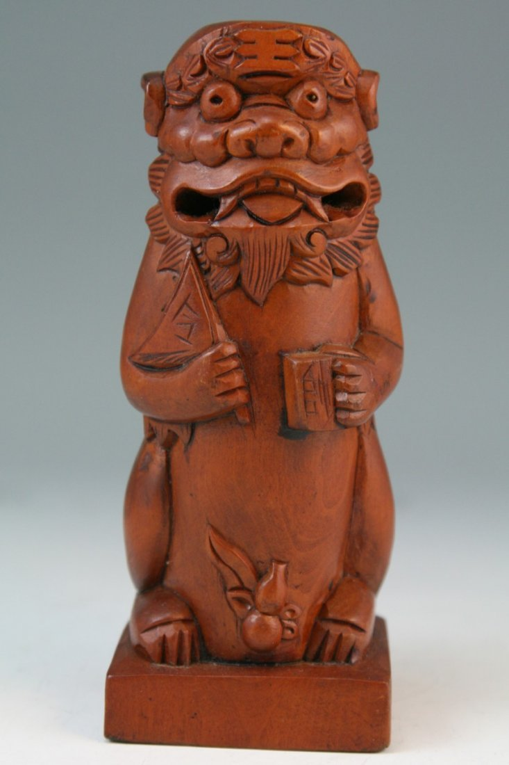 22: Chinese Carved Boxwood Seal