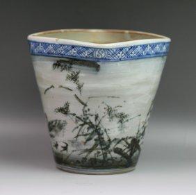 Fine Japanese Antique Arita Porcelain Vase