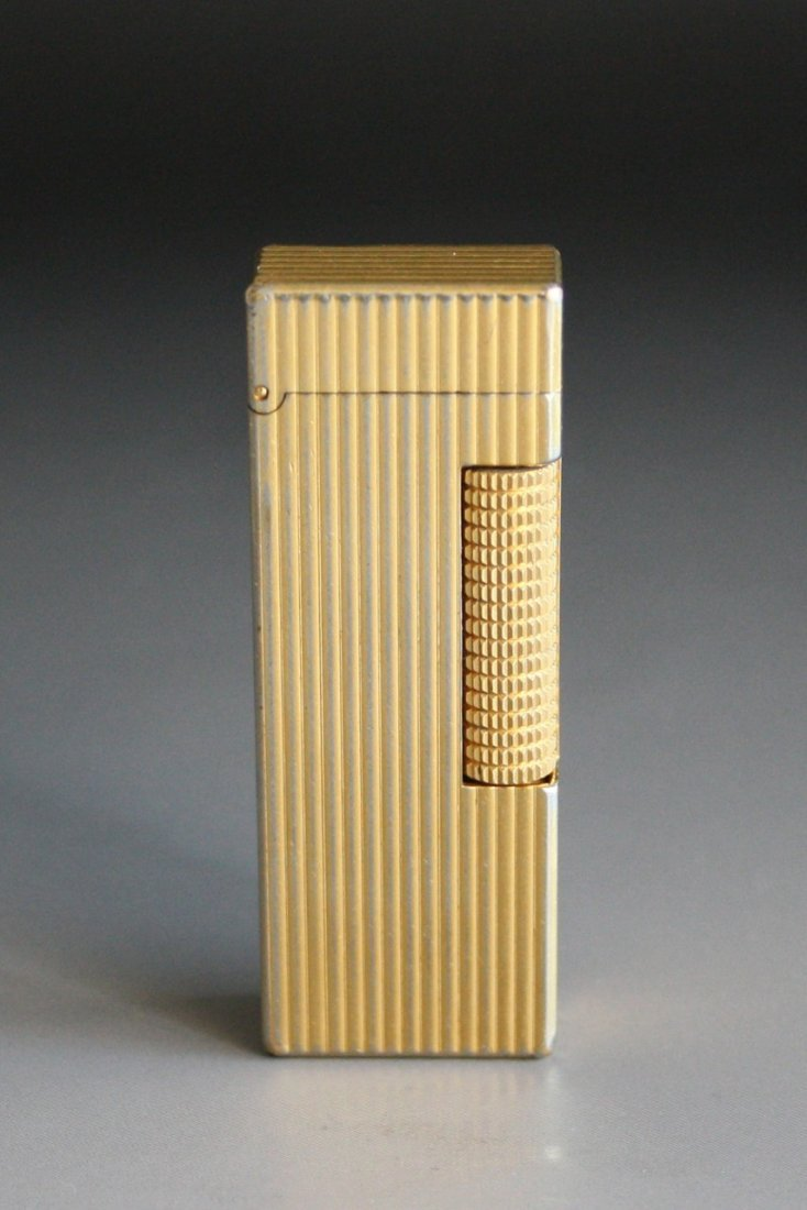 347: Vintage Swiss Dunhill Gold Plated Lighter