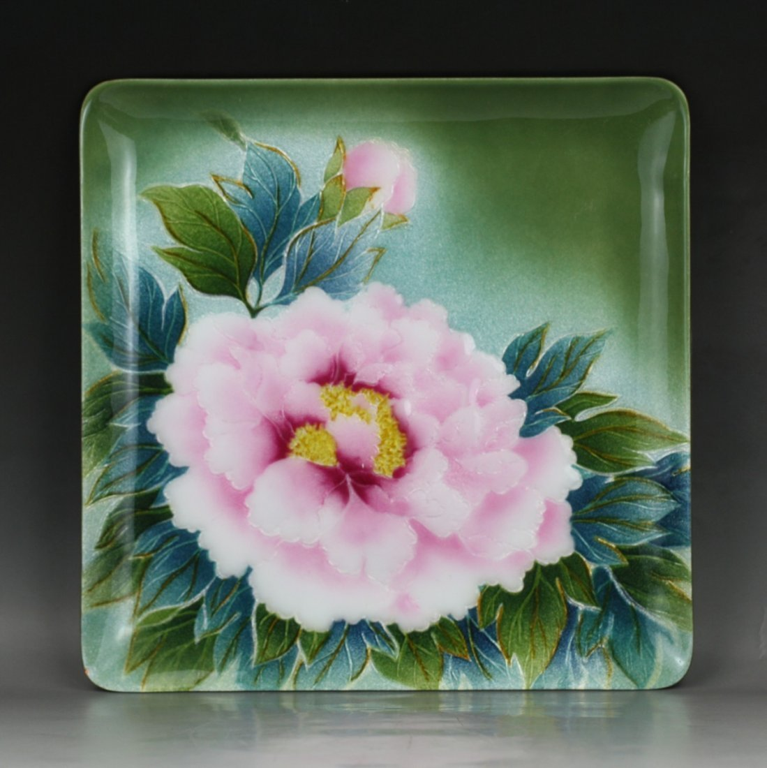 A Japanese Wireless Cloisonne Plate