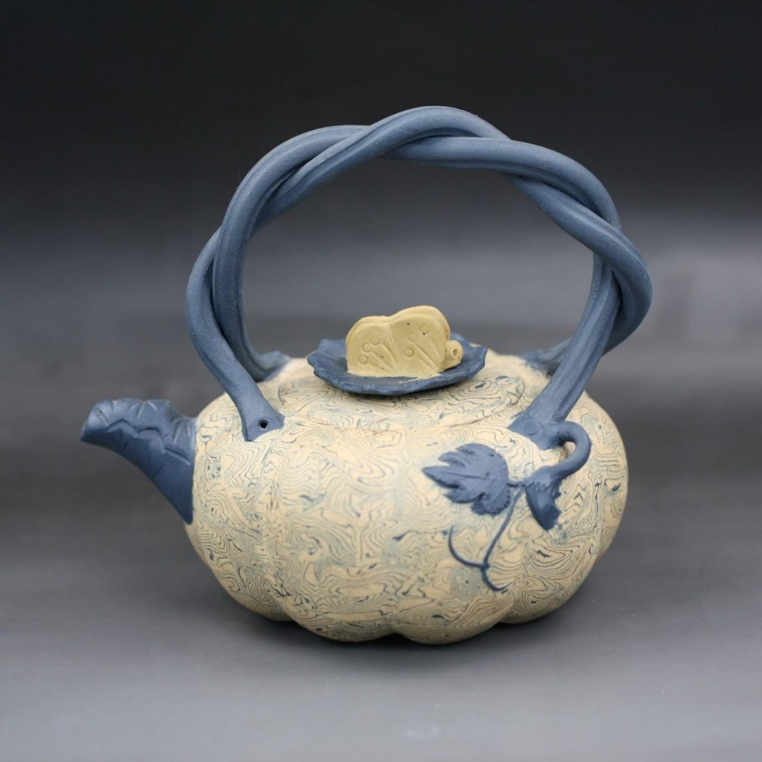 A Chinese Zisha Teapot By Pan Chuanzhong