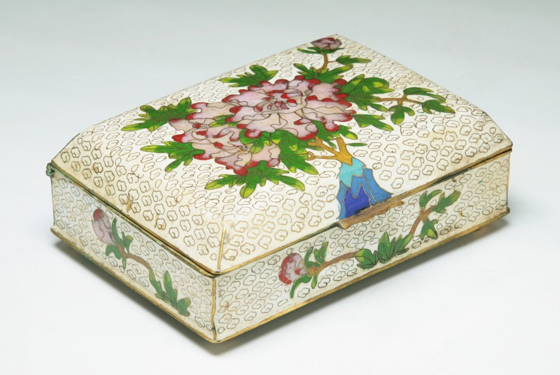 A Chinese Antique Cloisonne Bronze Box