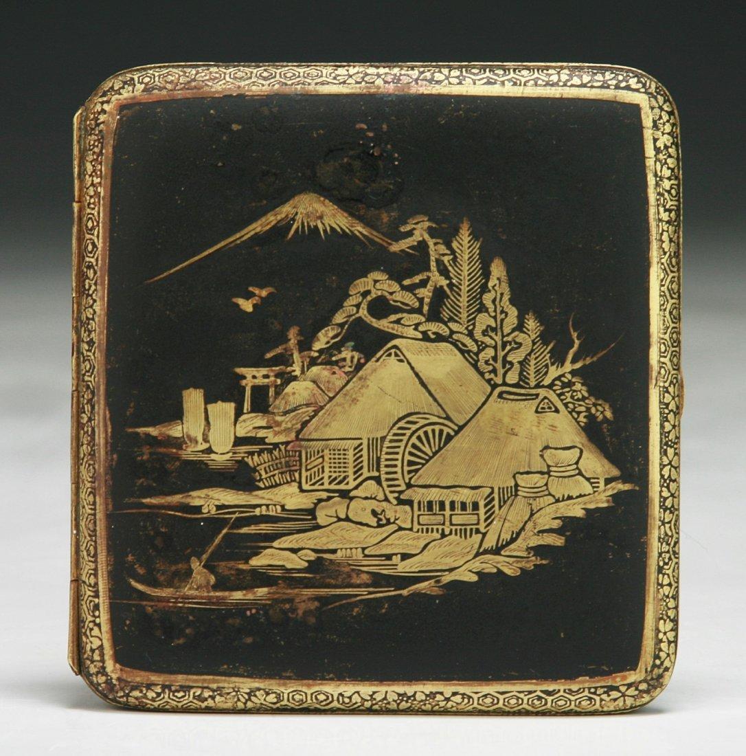 A Japanese Antique Cigarette Case