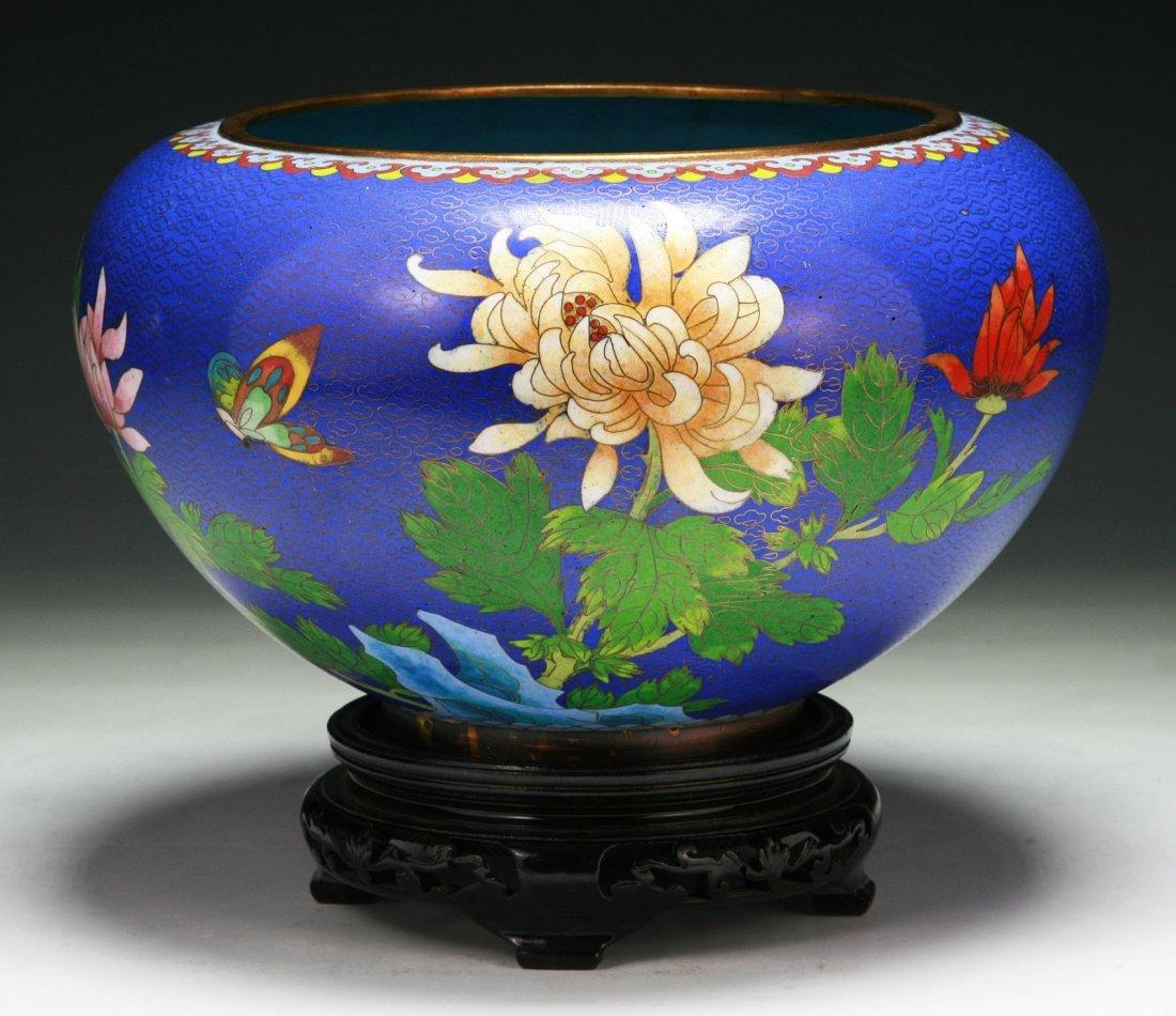 A Chinese Antique Cloisonne Jar