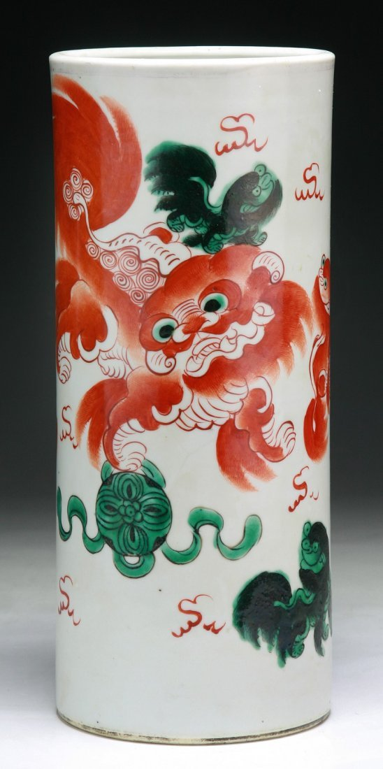 A Chinese Antique Porcelain Hatstand