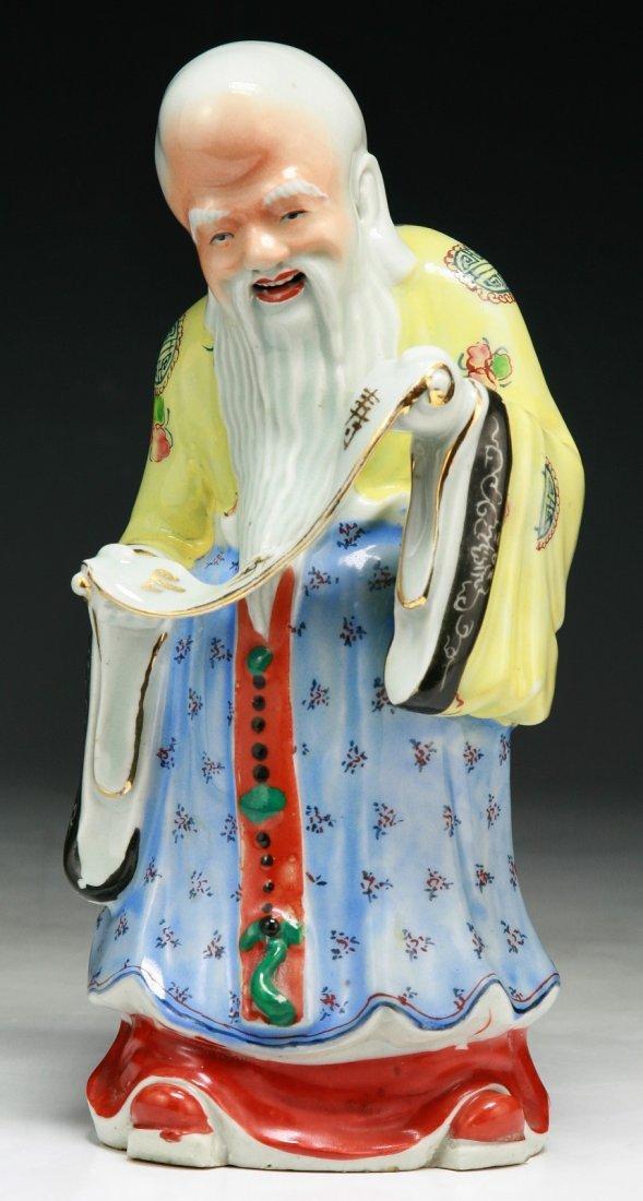 A Chinese Antique Porcelain Shoulao