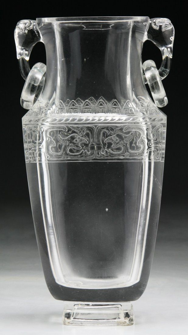 A Chinese Fine & Rare Antique Crystal Vase