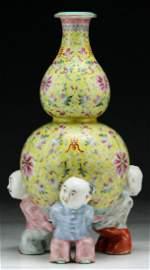 A Fine & Rare Imperial JIAQING Porcelain Vase