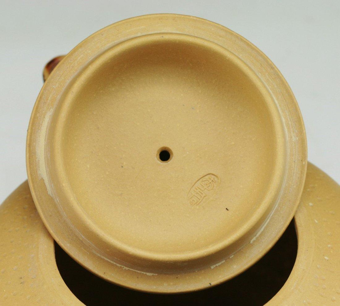 A Chinese Antique Yixing Zisha Teapot - 4