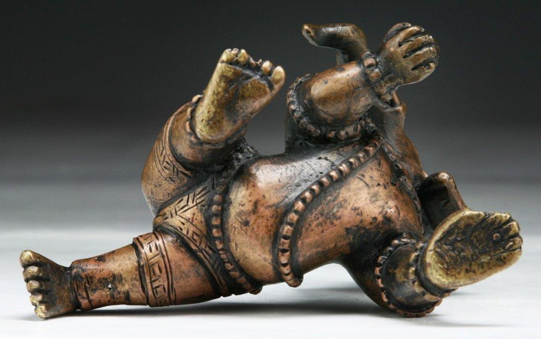An Antique Brass Ganesha - 3