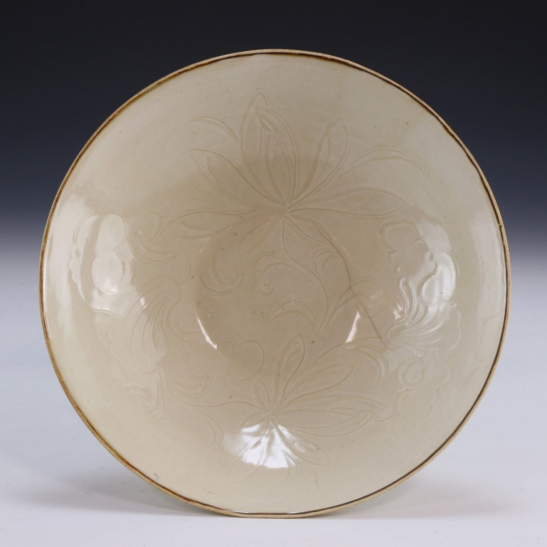 A Rare Dingyao Incised 'Daylily' Bowl - 3