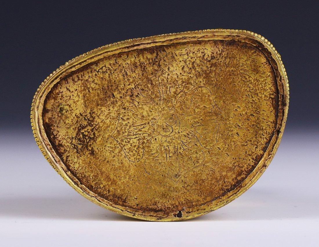 A Chinese Antique Gilt Bronze Buddha - 4