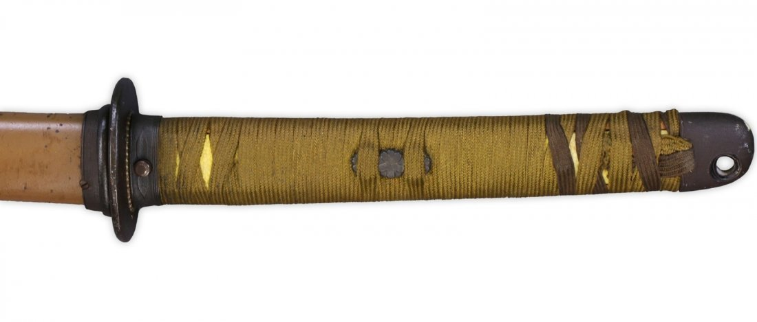 A JAPANESE WORLD WAR II SAMURAI SWORD - 3