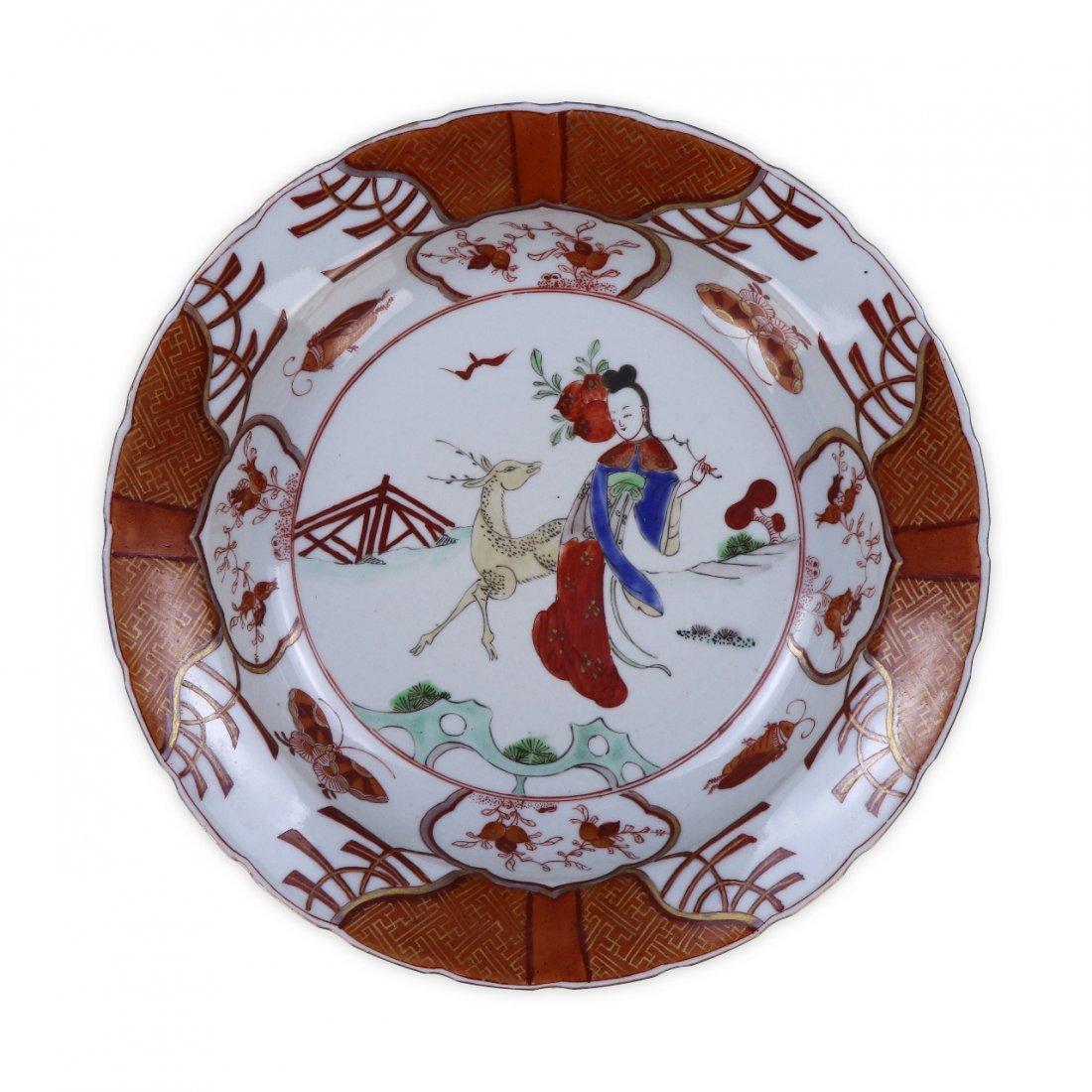 A Japanese Antique Porcelain Plate