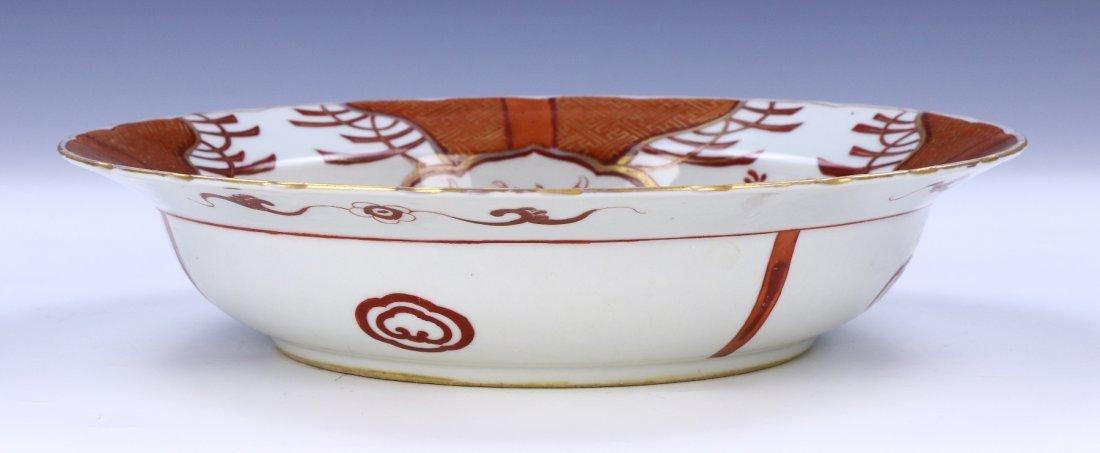 A Japanese Antique Porcelain Plate - 4