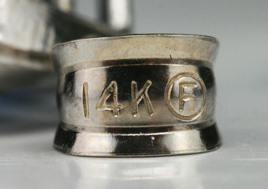 A Sapphire Pendant, 18K White Gold - 3