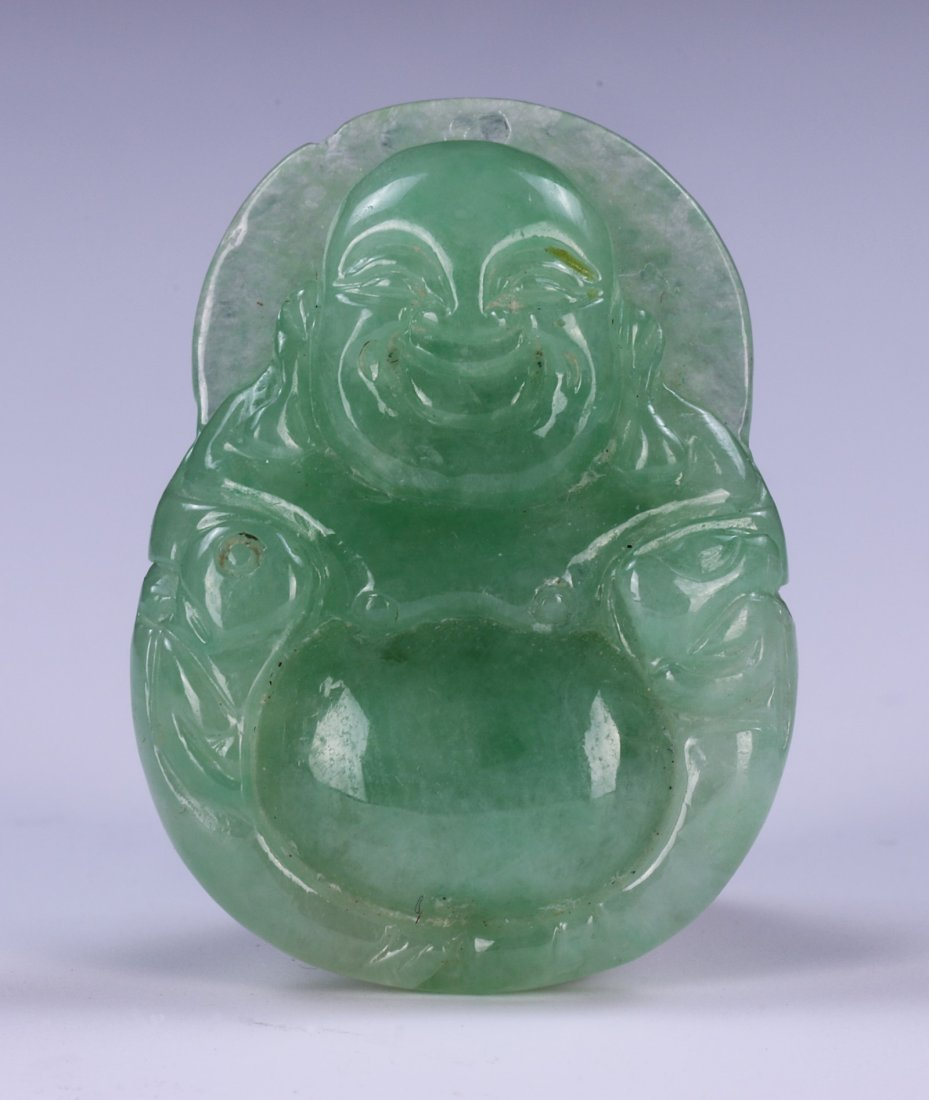 TWO (2) JADE CARVED PENDANT & SOAPSTONE SEAL - 4