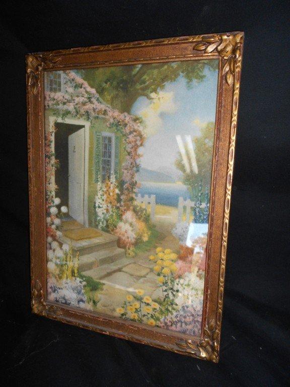 1335: G Blanchard Carr framed Print