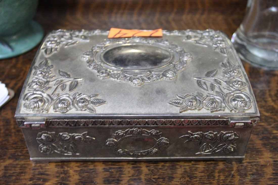 Sterling Silver Jewelry Box