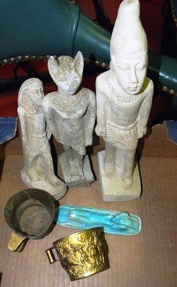 Egyptian/Greek World Tour Items 19th C