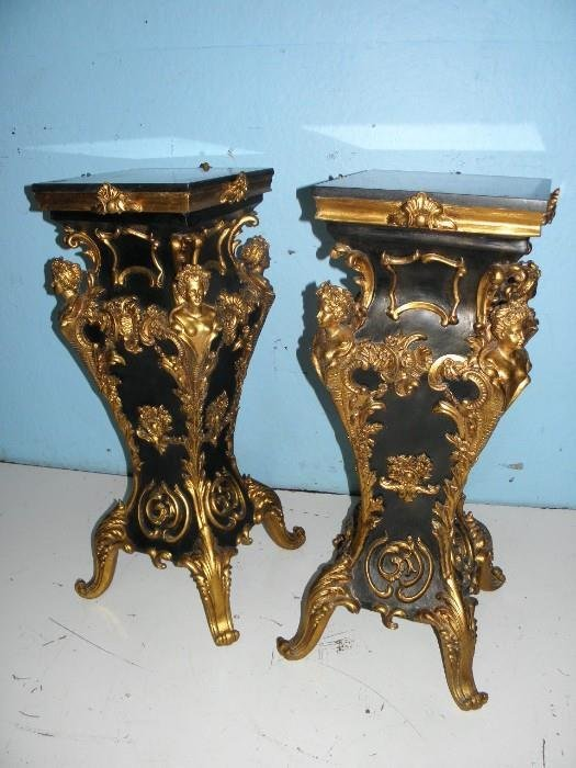 French Style Pedestals