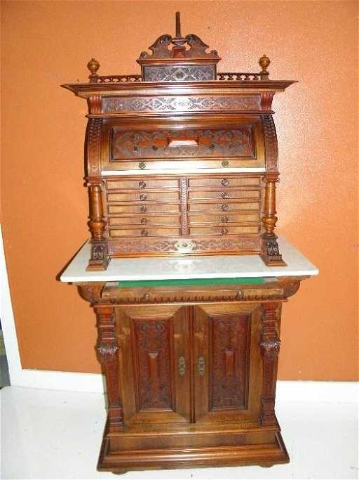 - Victorian Antique Dental Cabinet
